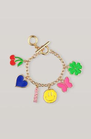 GANNI Charms Bracelet ( 65.00 GBP )   Shop your new Charms Bracelet at GANNI.COM