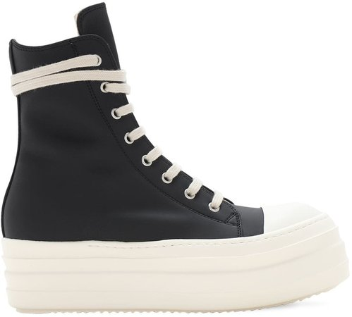 40mm Double Bumper High Top Sneakers