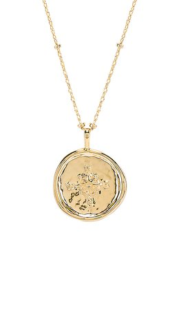 gorjana Compass Coin Necklace in Gold | REVOLVE