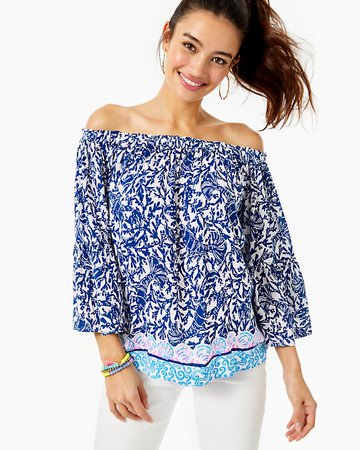 Nevie Off-The-Shoulder Top