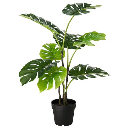 FEJKA Artificial potted plant - indoor/outdoor monstera - IKEA