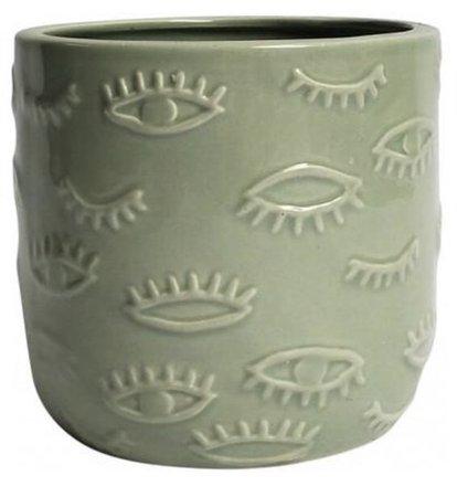Olive Bayroom Planter Pot