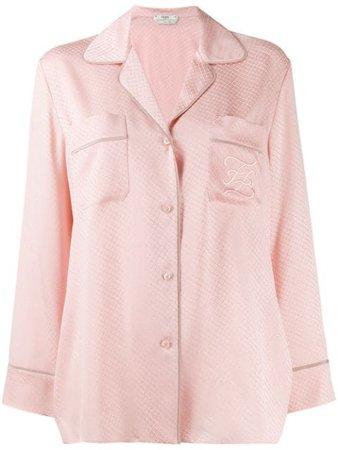 Fendi Jacquard pyjama-style Shirt - Farfetch