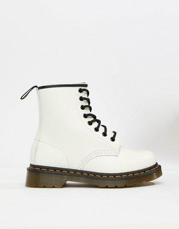 Белые кожаные ботинки Dr Martens 1460 | ASOS