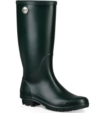 UGG® Shelby Matte Waterproof Rain Boot (Women) | Nordstrom