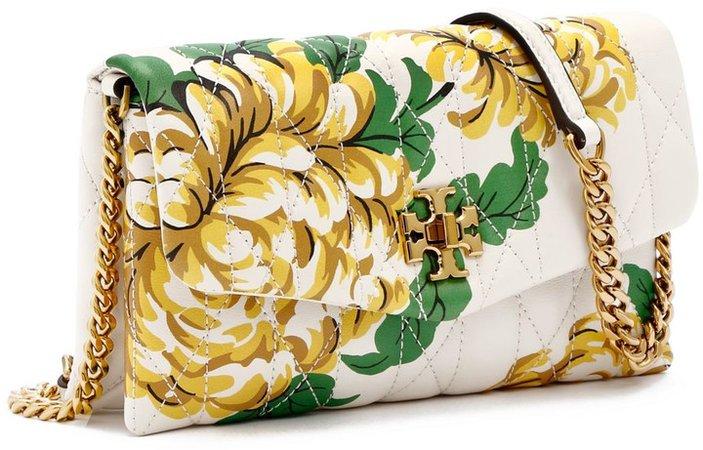 Kira Chevron Floral Chain Wallet