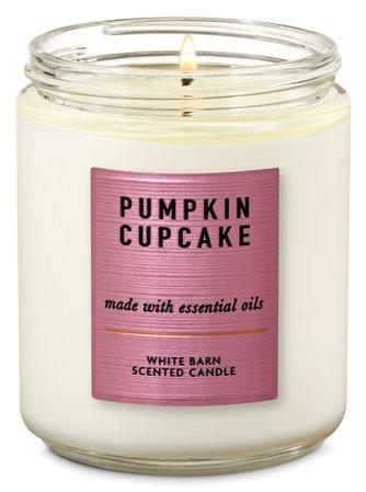 Pumpkin Cupcake Single Wick Candle | Bath & Body Works