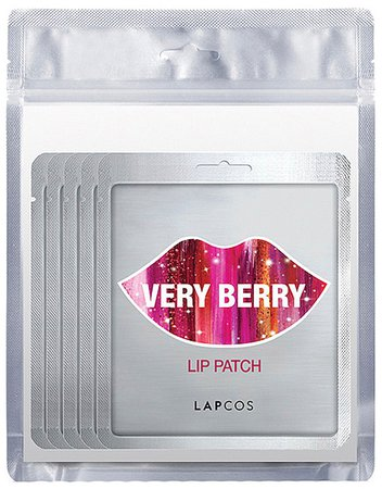 LAPCOS Very Berry Lip Patch 5 Pack