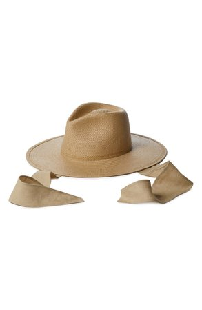 Janessa Leoné Francis Packable Straw Fedora   Nordstrom