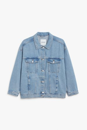 Classic denim jacket - Still waters - Coats & Jackets - Monki WW