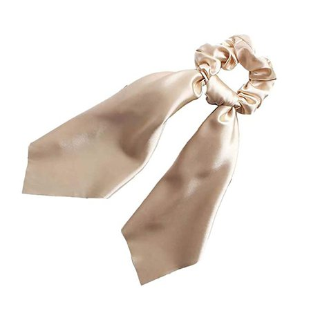Amazon.com : Bonwete 1pcs Satin Scarf Hair Scrunchies Hair Bow Streamers Headwear Accessories For Girl Women : Beauty