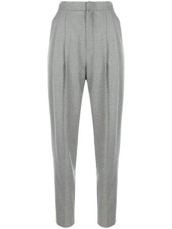 Saint Laurent high-waist Tailored Trousers - Farfetch