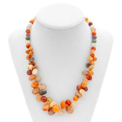 Multi-Agate Gemstone Necklace | Mystic Self LLC