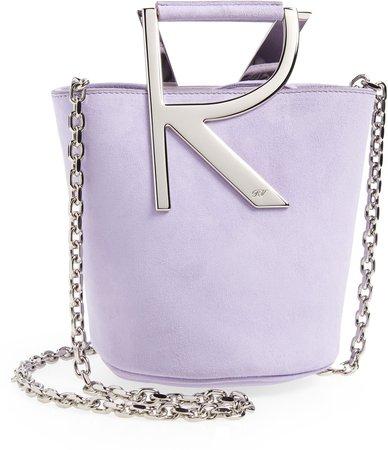 Mini Suede Bucket Bag Handbag