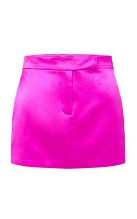 Jacks Cotton-Silk Mini Skirt by Alex Perry   Moda Operandi