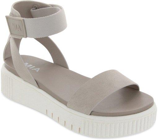 Mika Flatform Ankle Strap Sandal