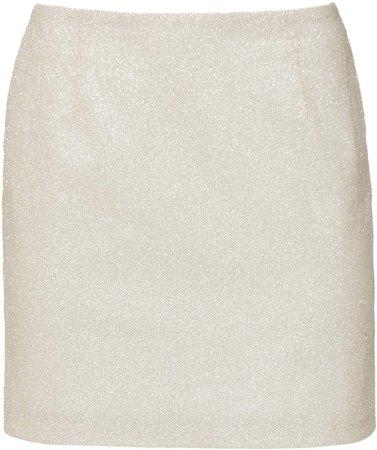 Mach & Mach Sparkling Mini Skirt Size: M