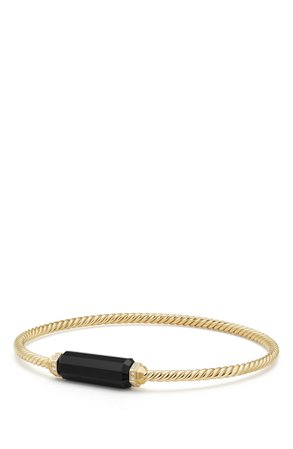 David Yurman Barrels Bracelet with Diamonds in 18K Gold | Nordstrom