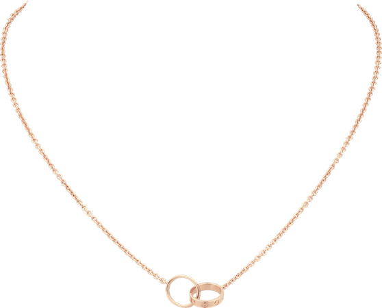 CRB7212300 - LOVE necklace - Pink gold - Cartier