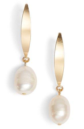 Halogen® Pearl Drop Earrings | Nordstrom