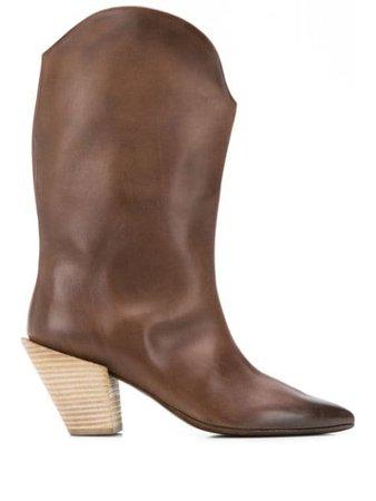 Marsèll Pointed Cowboy Boots - Farfetch