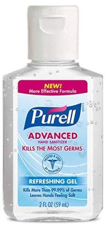 Purell mini hand sanitizer