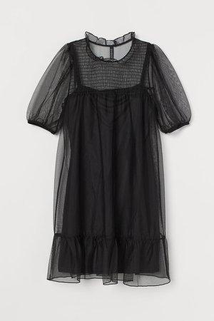 Mesh Dress - Black