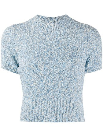 Sandro Paris Ginna Mottled Jumper