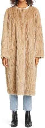 Jamie Long Reversible Faux Shearling Coat