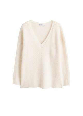 Violeta BY MANGO Dolman-sleeve sweater