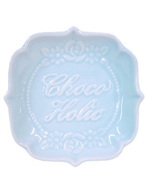 chocoholic plates - kawaii♥tea♥time