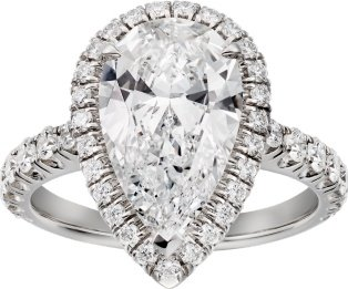 CRN4751400 - Cartier Destinée Solitaire - Platinum, diamonds - Cartier