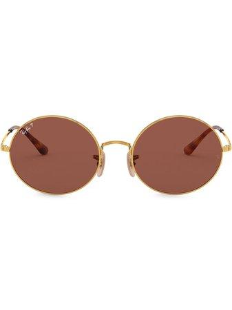 Ray-Ban Oval 1970 Sunglasses - Farfetch