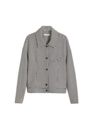 MANGO Houndstooth jacket