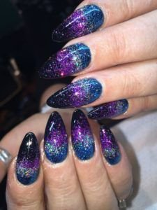 Pinterest - 31 Galaxy Nails That Are out of This World > CherryCherryBeauty.com | nails