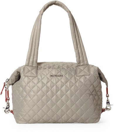 Medium Sutton Deluxe Quilted Nylon Duffle Bag