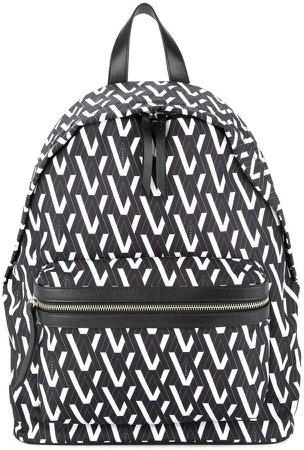 Ports V all-over print backpack