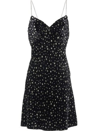 Miu Miu star print party dress
