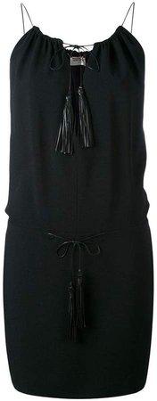 tassel mini dress