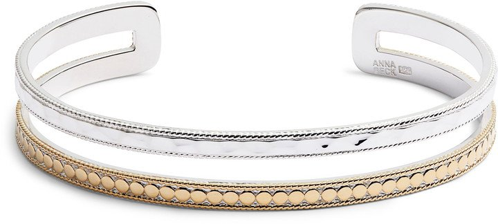 Mixed Double Band Cuff