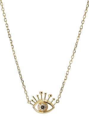 Evil Eye Necklace Gr. One Size