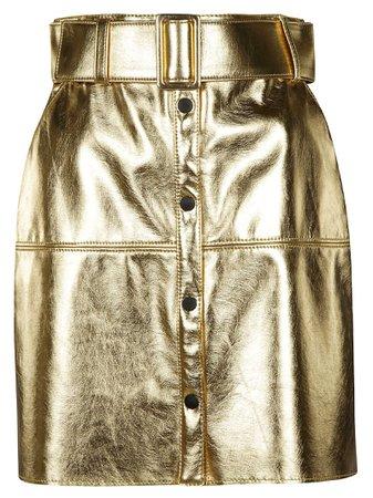 MSGM Buttoned Mini Skirt