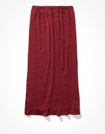 AE Silky Midi Skirt