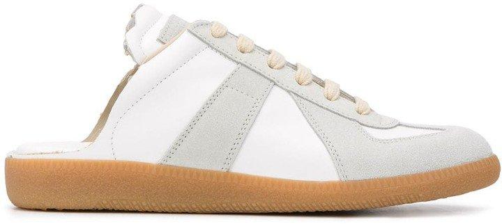 Replica open-back sneakers