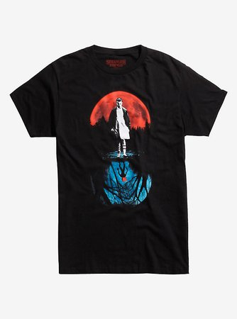 Stranger Things Eleven Moon T-Shirt