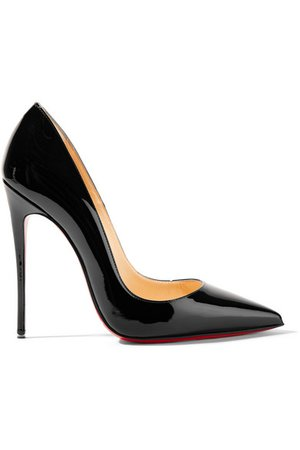 Christian Louboutin | So Kate 120 patent-leather pumps | NET-A-PORTER.COM