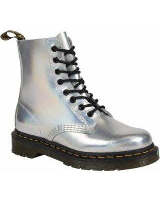 Silver Reflective Boots