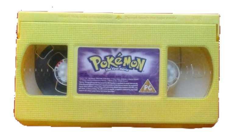 pokemon movie vhs