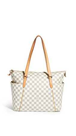 What Goes Around Comes Around Louis Vuitton Damier Azur Totally MM Tote | SHOPBOP