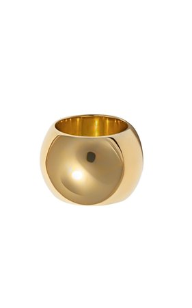 Semibreve Chunky Vermeil Ring by Uncommon Matters | Moda Operandi